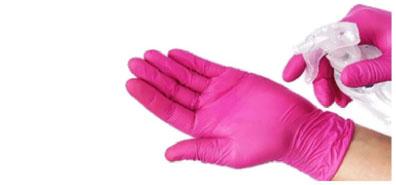 Вариант без замены перчаток
